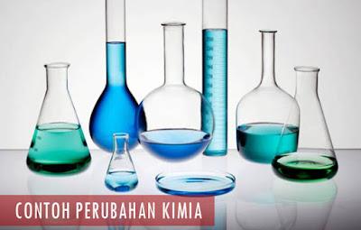 Contoh Perubahan Kimia