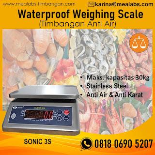 Timbangan waterproof sonic 3s