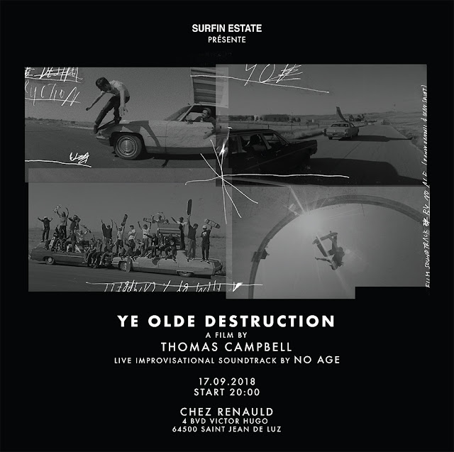 Ye Old Destruction, video premiere at Chez Renauld with No Age and Surfin Estate