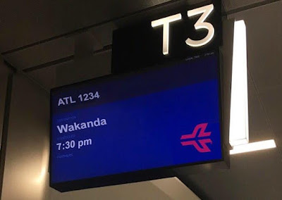 Wakanda airport in America