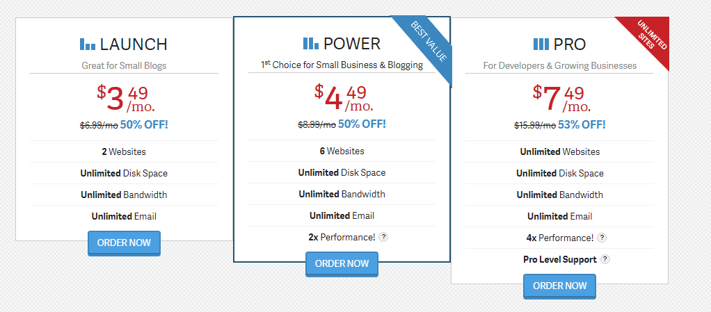 16 Hosting .com Web Plan Wordpress Shared