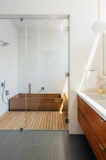 ห้องอาบน้ำสไตล์ญี่ปุ่น
