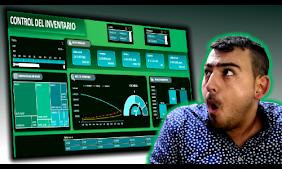 como hacer un dashboard de inventarios en excel