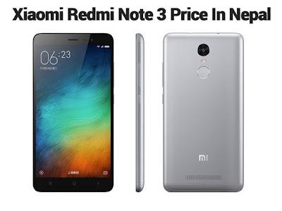 Xiaomi Redmi Note 3 Price in Nepal