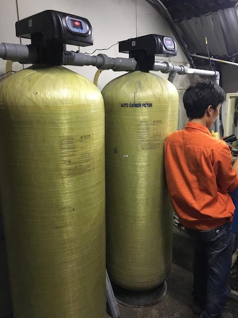 Cột lọc nước giếng khoan công nghiệp