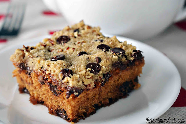 Chocolate Pecan Coffee Cake