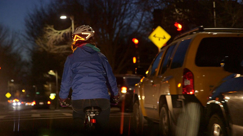 Lumos: A Bicycle Helmet with Turn Signals and Brake Lights
