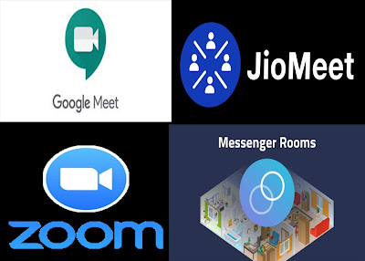 JioMeet, Google Meet and Zoom !! Video Conferencing Apps - A New Competition in Market