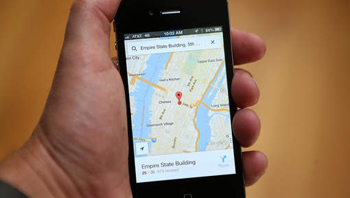 celular google maps