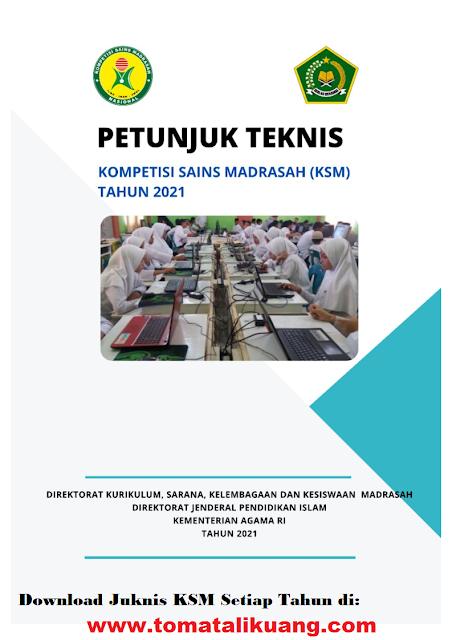 juknis ksm kompetisi sains madrasah mi mts ma tahun 2021 kemenag tomatalikuang.com
