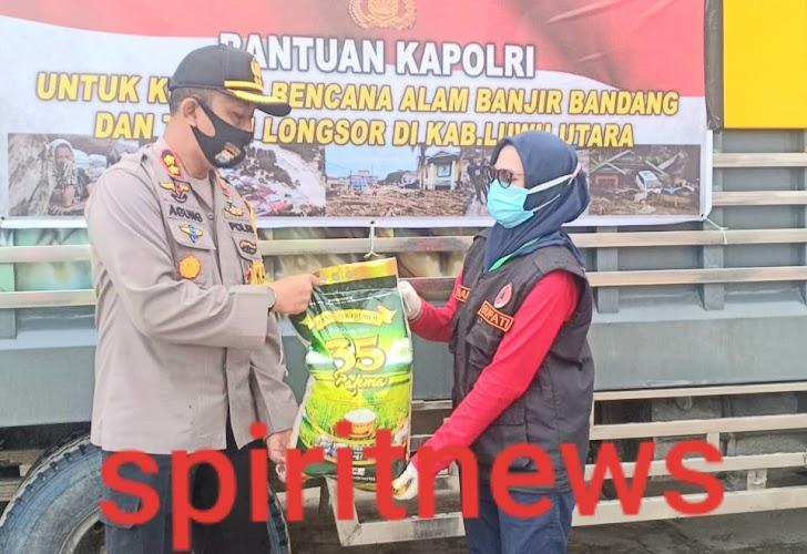 Kapolres Lutra, Korban Minggal 38 Orang, Korban Hilang 9 Otang Personil TNI dan Polri Masih Melakukan Pencarian