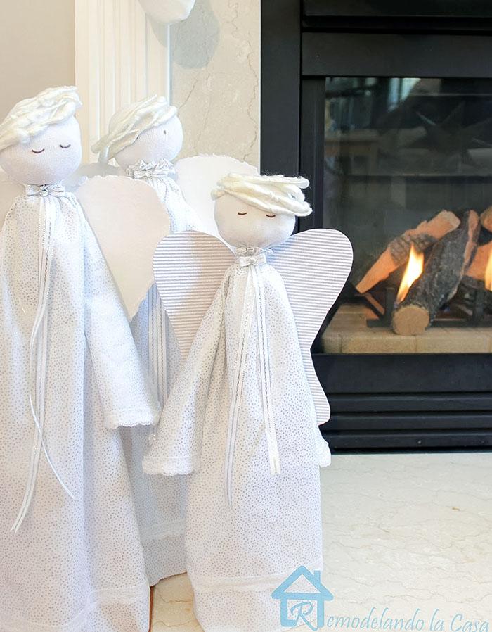 DIY - Wooden angels