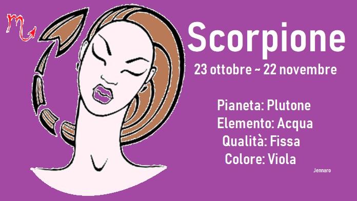Oroscopo luglio 2019 Scorpione