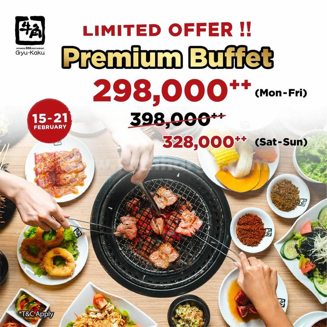 GYUKAKU Promo PREMIUM BUFFET Harga Spesial Mulai Rp 298.000++