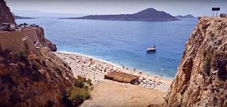 Kas Kaputas beach