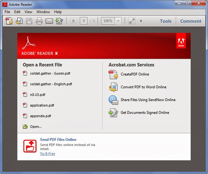 Free Download Adobe Reader 11.0