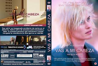 CARATULA VAS A MI CABEZA - YOU GO TO MY HEAD 2017[COVER DVD]