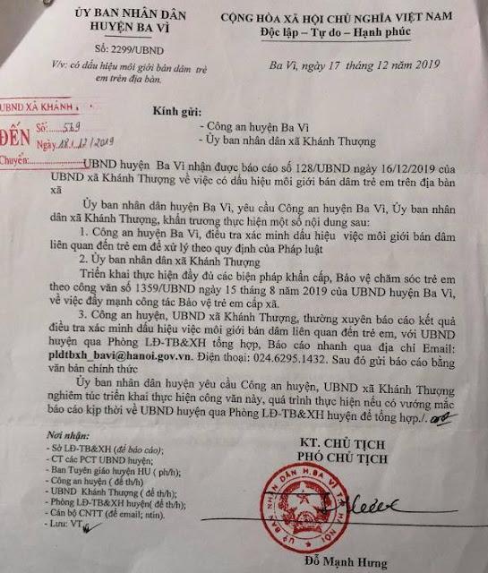 Công an điều tra đường dây môi giới mại dâm nữ sinh cấp 2 tại Hà Nội