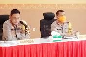 Kapolda Sulsel Pimpin Rapat Anev Tentang Perpanjangan PSBB Kota Makassar dan Kabupaten Gowa