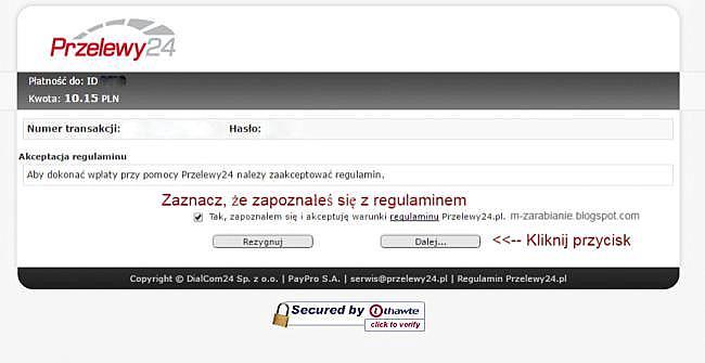 Skrill — Przelewy24