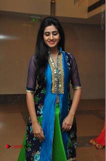 Actress Model Shamili Sounderajan Pos in Desginer Long Dress at Khwaaish Designer Exhibition Curtain Raiser  0053.JPG