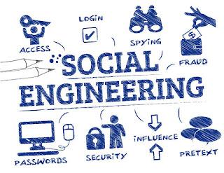انواع الهندسة الاجتماعية (social engineering attacks)