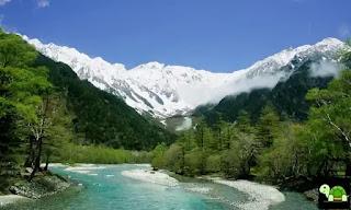Taman Nasional Chūbu-Sangaku dan Pegunungan Alpen Jepang