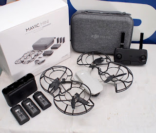 Drone DJI Mavic Mini Fly More Combo Bekas