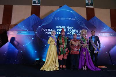 Pemilihan Putra Putri Pariwisata Nusantara Aceh 2019 Resmi Dibuka