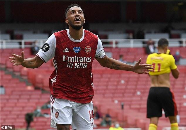Aubameyang đồng ý gia hạn hợp đồng với Arsenal