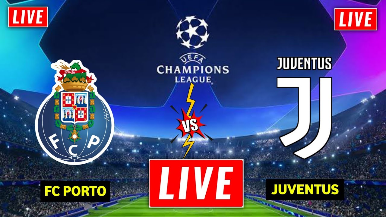Watch the Juventus and Porto match broadcast live details today, 03-03-2021, in the Champions League