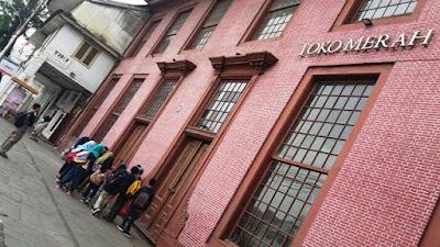 walking tour wisata toko merah bersama jakarta good guide dan mtsn4