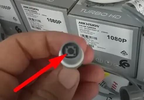 ربط كاميرا مراقبة مع التلفاز بدون جهاز التسجيل DVR , XVR