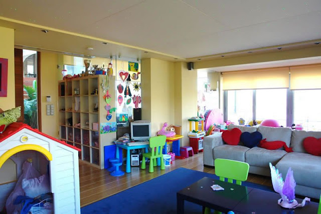Modern villa, Greece, nursery