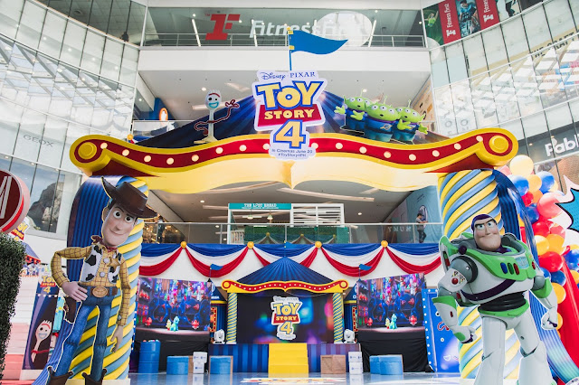 Join Woody, Buzz, and the rest of the gang at SM Cinema's Disney and Pixar's Toy Story 4 Adventure Land