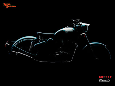 Royal Enfield Classic 500 silhouette.