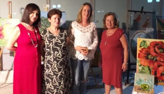 Με επιτυχία η έκθεση της Καλλιτεχνικής Ομάδας Ερμιονίδας στα Δίδυμα