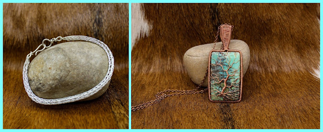 Vendor of Renaissance festivals offering handcrafted historically inspired Viking jewelry