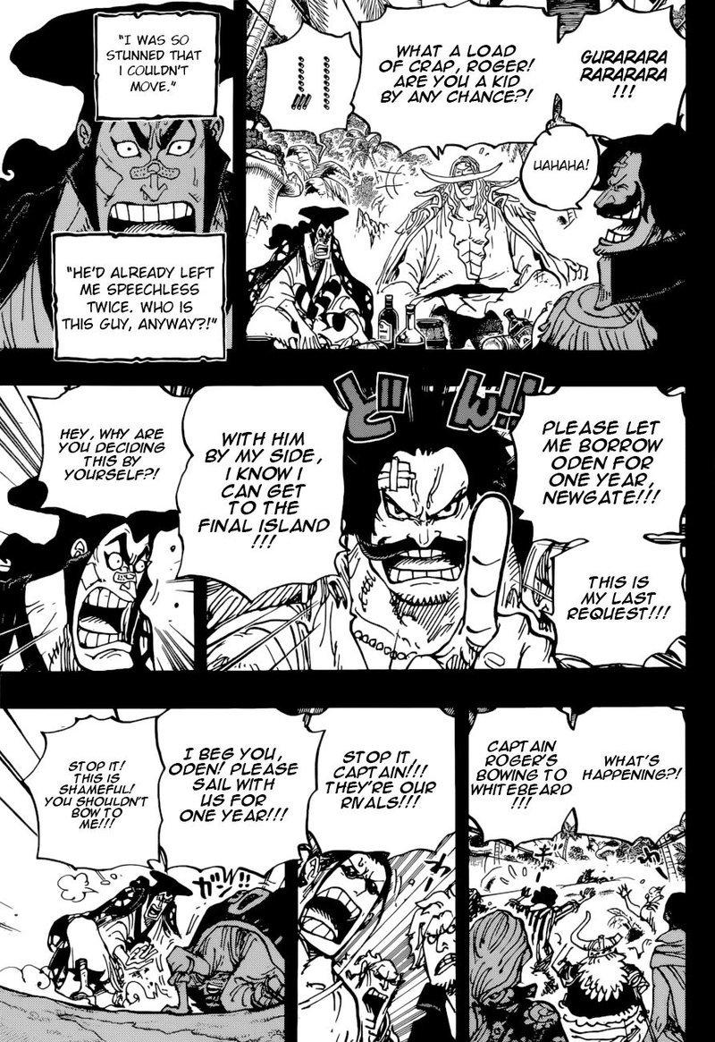 One Piece Manga Chapter 966 - Image 010