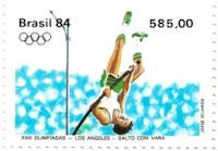 Selo salto com vara, Olimpíadas de Los Angeles