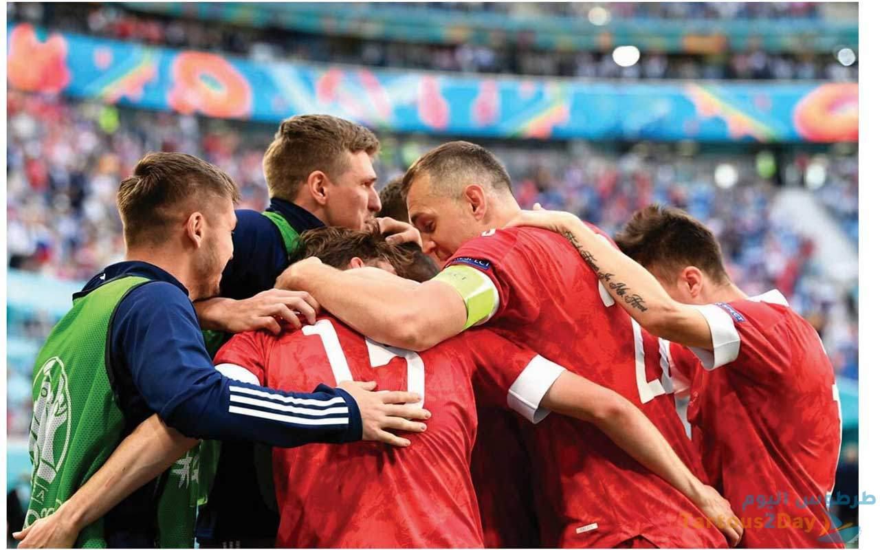 مباراة الدنمارك و روسيا بطولة امم اوروبا