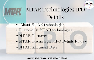 MTAR Technologies IPO details, company information, turnover