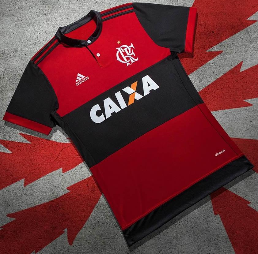 Adidas lança a nova camisa titular do Flamengo - Show de Camisas 947b6d0b5f5bd