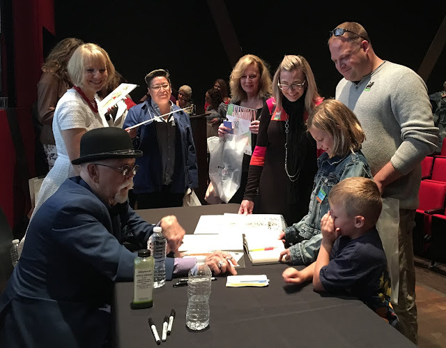 Jim Howard Paper Doll Book Signing at Denver Art Museum