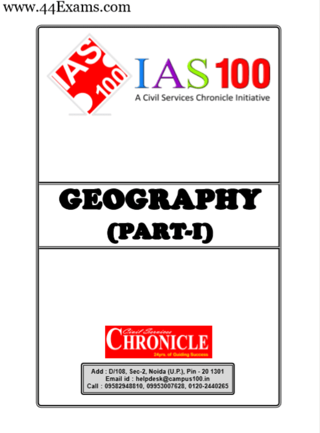 Geography-by-Chronicle-IAS-Academy-For-UPSC-Exam-PDF-Book