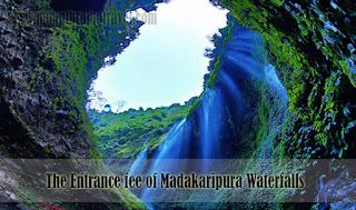 The Entrance fee of Madakaripura Waterfalls