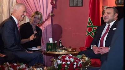 الملك محمد السادس يراسل الرئيس الأمريكي جو بايدن