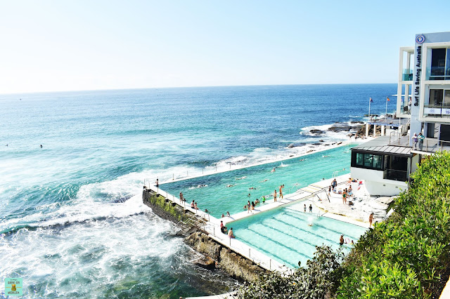 Piscina de Bondi Beach en Sydney, Australia