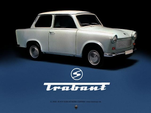 Trabant foi produzido pela Alemanha comunista