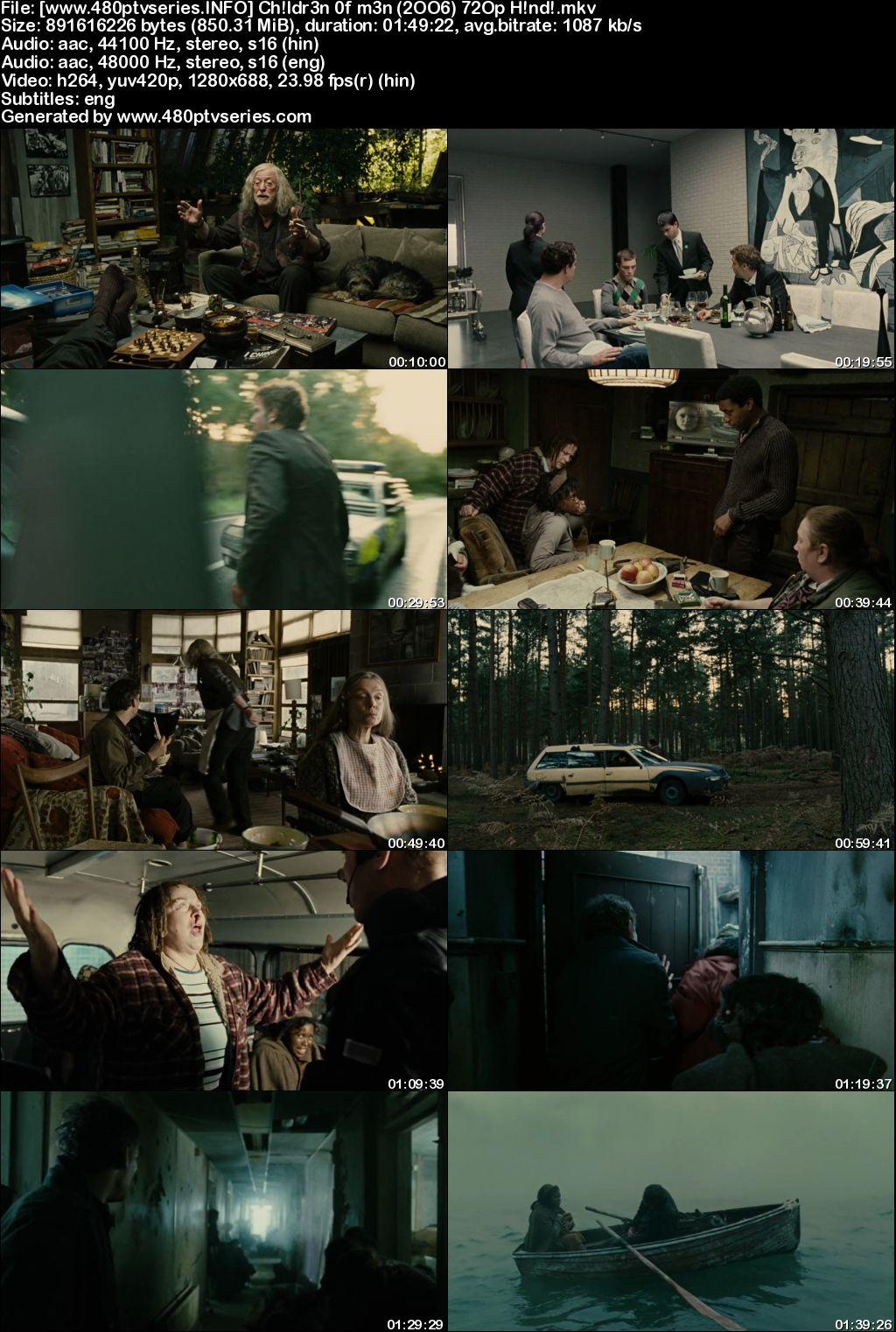 Download Children of Men (2006) 850MB Full Hindi Dual Audio Movie Download 720p Bluray Free Watch Online Full Movie Download Worldfree4u 9xmovies